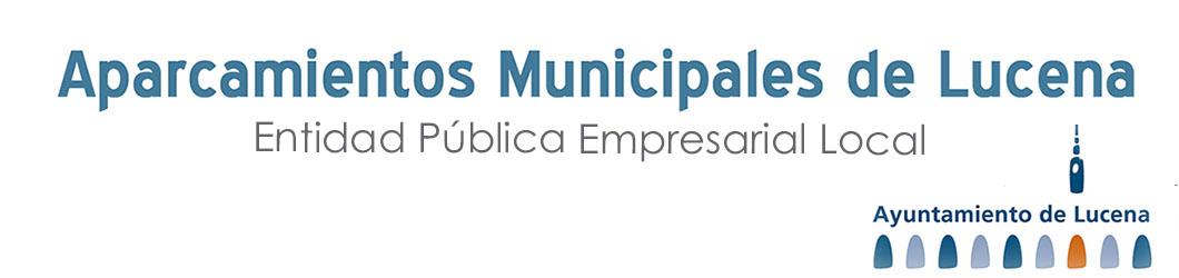 Aparcamientos Municipales de Lucena